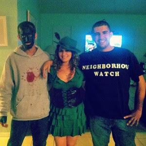 Trayvon Martin George Zimmerman Halloween 2 Just Me Against The World
