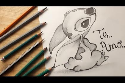 Imagenes De Dibujos De Stitch A Lapiz
