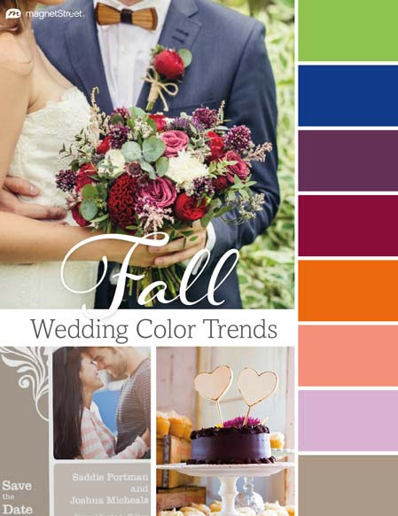 Top 2016 Wedding Color Trends: Spring, Summer, Fall, Winter | MagnetStreet Weddings