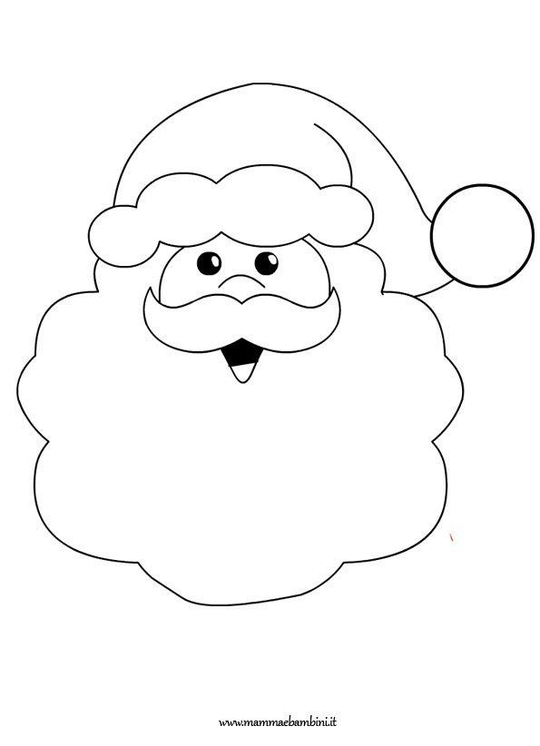 Disegni Su Babbo Natale Da Colorare Mamma E Bambini