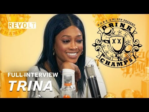 Do It For The Ladies: Trina Drops Diamonds On Drink Champs & Cardi B Money Moves At This Years VMA's