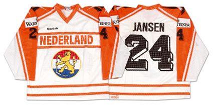 1994 Netherlands jersey, 1994 Netherlands jersey