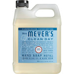 Mrs Meyers Clean Day Hand Soap Refill, Rain Water Scent - 33 fl oz