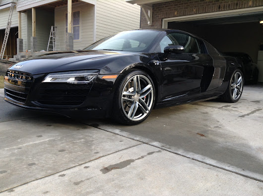 New Car Preparation Package of 2015 Audi R8