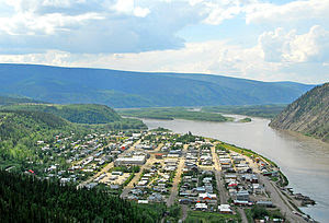 Photo of Dawson City, Yukon, taken by Michael ...