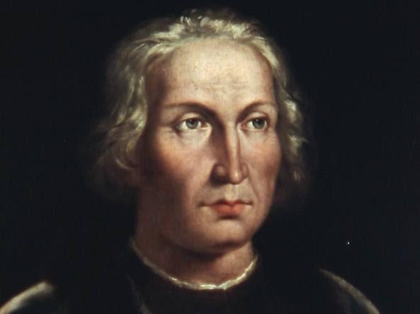 Un ritratto di  Cristoforo Colombo custodito al Museo Navale di Madrid (Afp Photo)