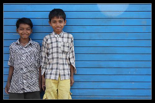 Niños de Bombay