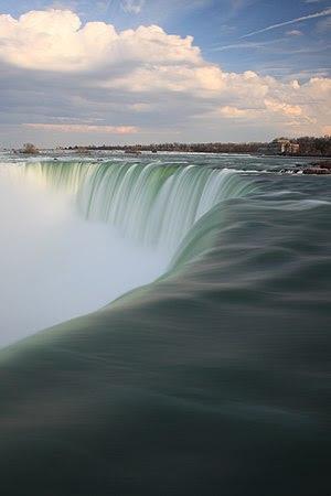 Niagara Falls extended exposure
