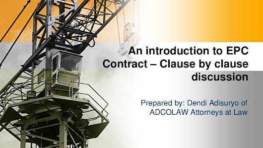 EMLI Training-An introduction to epc contract-clause by clause-Prepar…