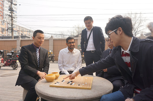 Exploring the mysteries of Go with AlphaGo and China's top players