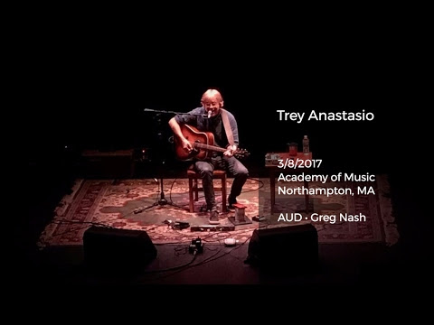 Trey Anastasio Live at Academy of Music, Northampton, MA - 3/8/2017 Full...