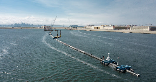 Giant Trap Is Deployed to Catch Plastic Littering the Pacific Ocean