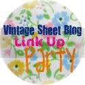Vintage Sheet Blog Link Up Party#34; width=