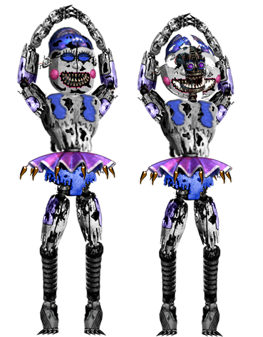 Image: Nightmare Ballora by Dangerdude991 on DeviantArt