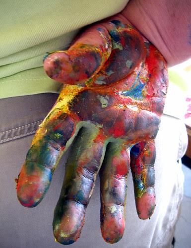 tara's paint hand