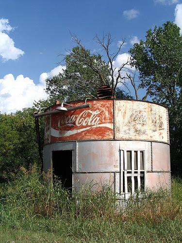 Estrutura abandonada da Coca-Cola