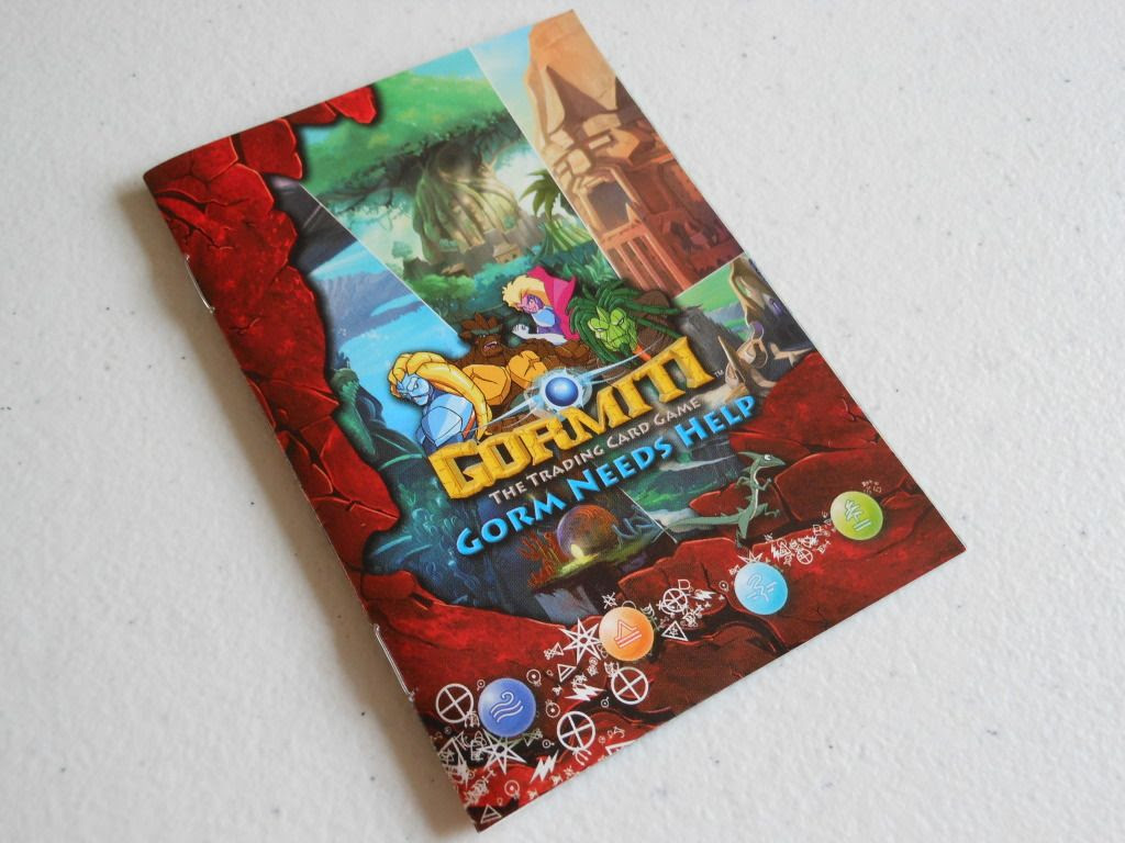 Gormiti: The Trading Card Game rules