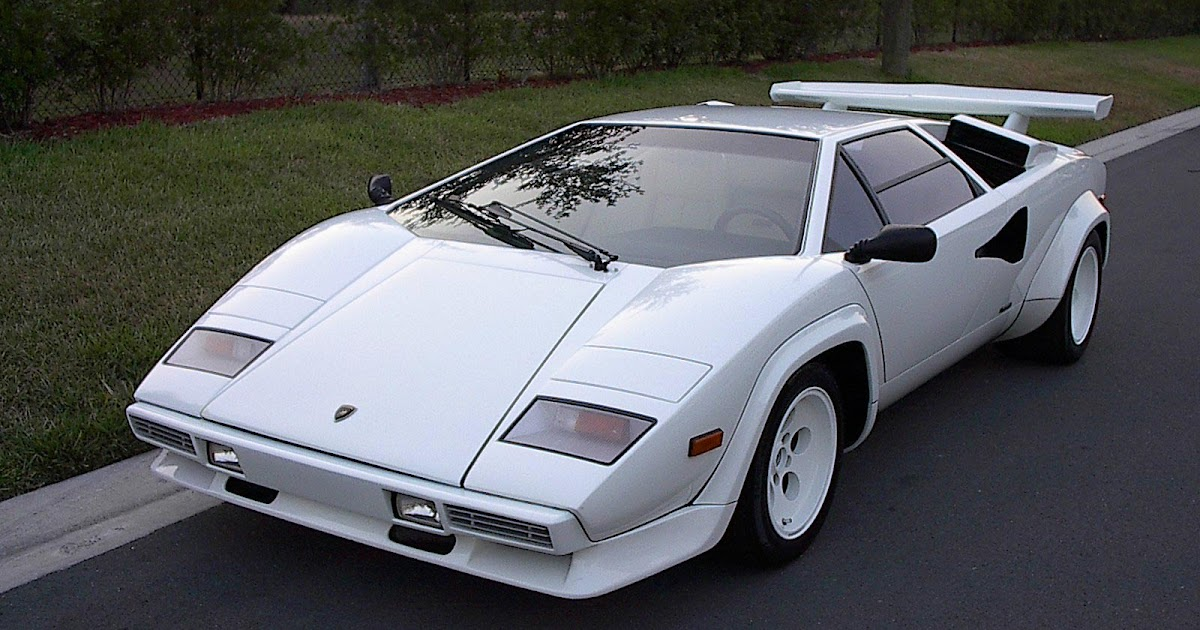 Fast Cars Lamborghini Countach