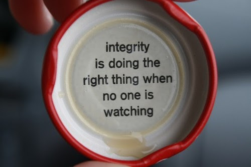 Integrity Is Doing The Right Thing When No One Is Watching Honesty