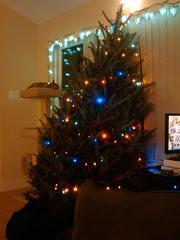 lazy christmas tree