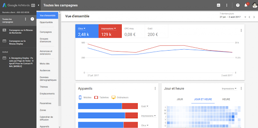Le Nouveau Google Adwords : Quel Design ? Quelle Interface ?