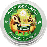 Badger Citronella & Beeswax Outdoor Candle - 5.9oz