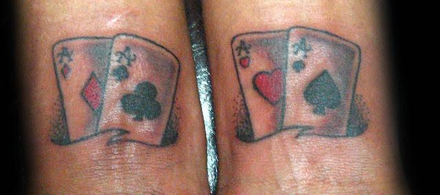 Significado Cartas Poker Tatuajes Ltd Poker Table Top