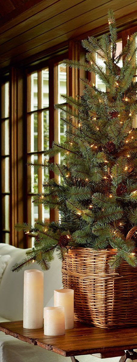 22 Minimalist And Modern Christmas Tree Décor Ideas - DigsDigs