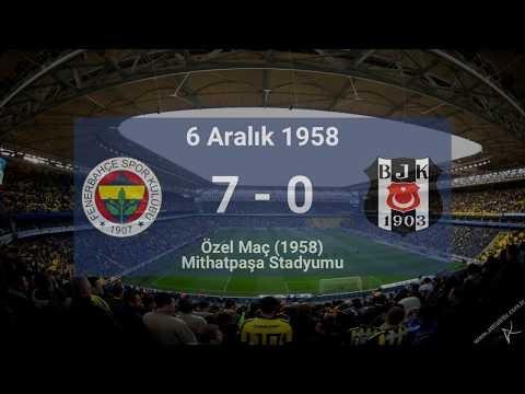 Tarihteki En Gollü Beşiktaş - Fenerbahçe Maçları