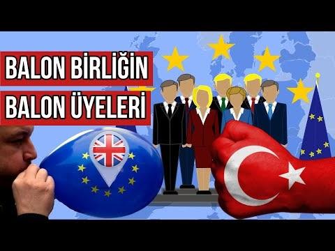 Türkiye'den Güçsüz ve Neden Avrupa Birliği Tarafından Kabul Edildiği Anl...(VİDEO)