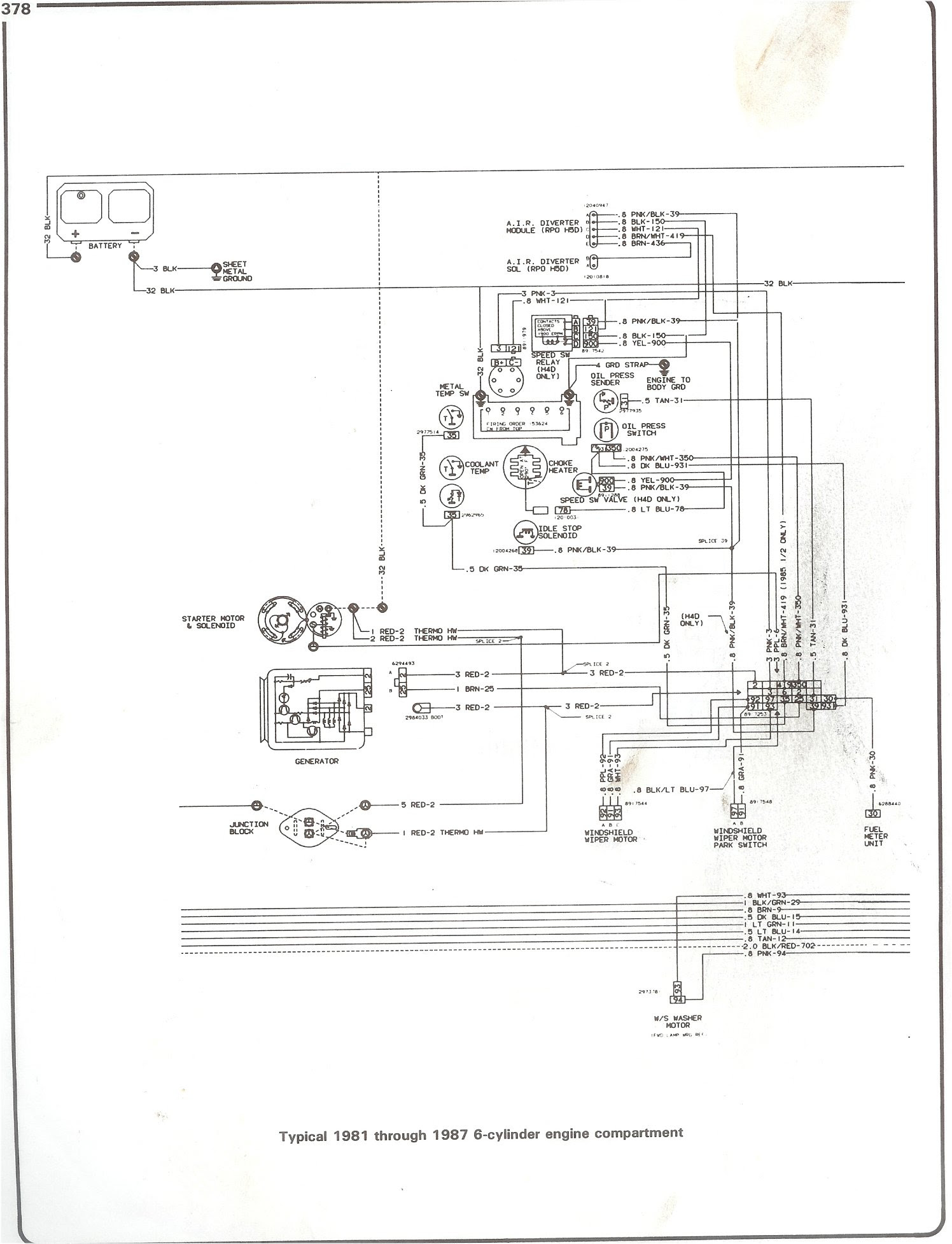 E2549 84 Chevrolet Corvette Wiring Diagram Wiring Resources
