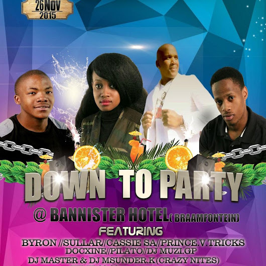 "HARD-TIME PRODUCTION on Twitter: ""Is going down in Bannister Hotel 26th November ziyawa """