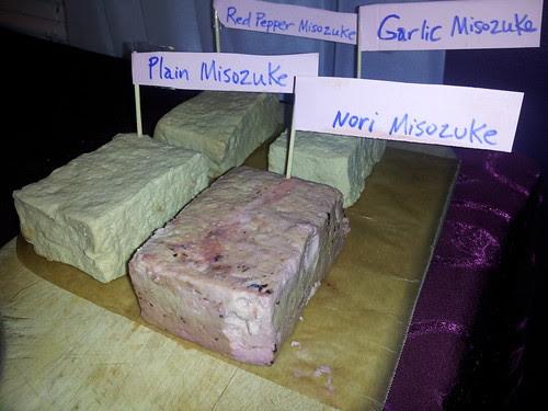 Tofu Misozuke (four flavors)