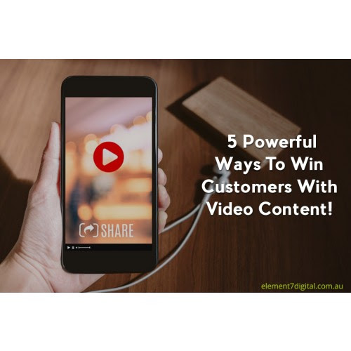 5 Powerful Ways To Win Customers With Video Content!