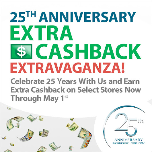 25th Anniversary Extra Cashback Extravaganza - UnFranchise Blog