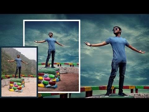 Photoshop Tutorial | Photo Manipulation Change Background