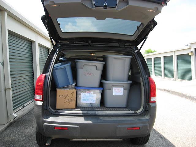 Moving Stuff to Storage - 7.25.11