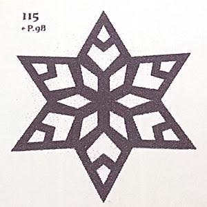 切り絵切り紙で雪の結晶を作ってみました ハンドメイド