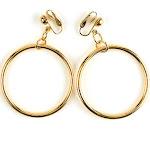 Hoop Earrings - 10829 - Silver - One-Size