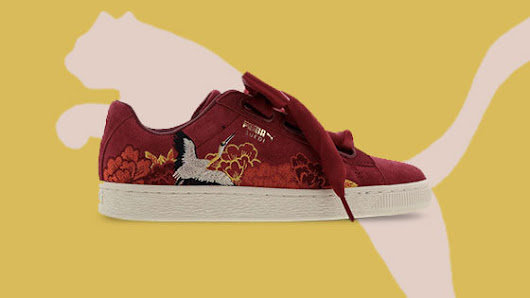 Puma's Japanese-style embroidered sneakers pay homage to the Kimono | Daniel Swanick