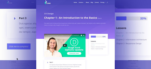 Creating a Learning Management (LMS) Website with Divi