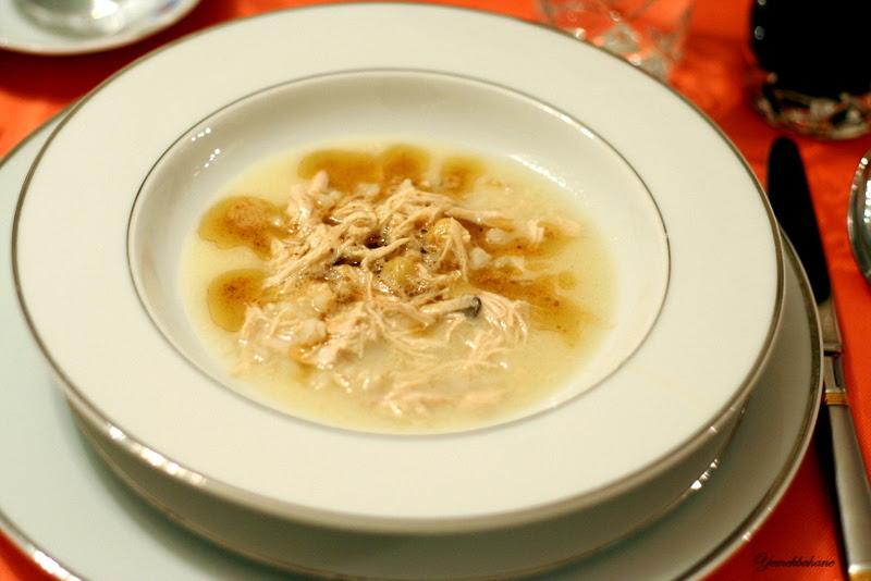 Nohutlu Buğdaylı Tavuk Çorbası