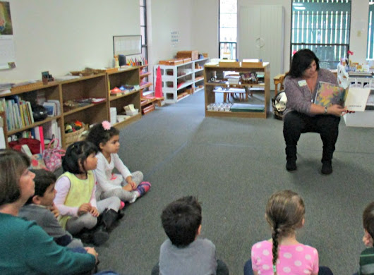 Guest Reader Day at Country Day