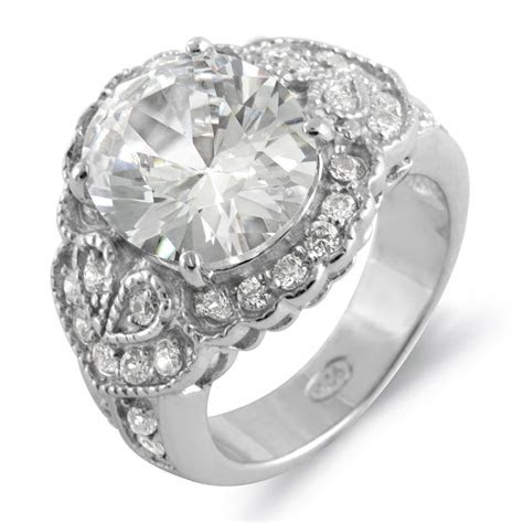 oval  engagement anniversary solitaire ring sterling