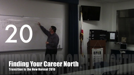 Career Opportunities with Douglas E. Welch » Finding Your Career North from Transition is the New Normal 2016 [Audio] (1:00)