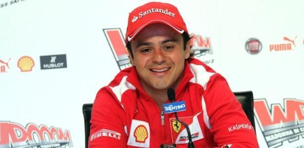 Felipe Massa, piloto da Ferrari, admite a pressão por bons resultados em 2012
