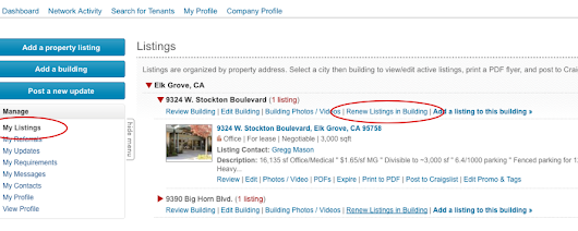 renew commercial real estate listings on rofo | Rofo Blog