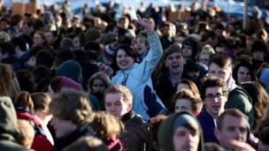 حضر نحو 2500 شخص في حفل اختيار نجوم الفيلم المحتملين في بريستول