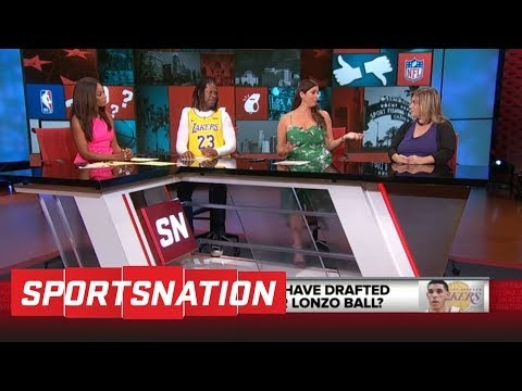 Should Lakers have drafted Jayson Tatum over Lonzo Ball? | SportsNation | ESPN #youtube #US #USA #watch...