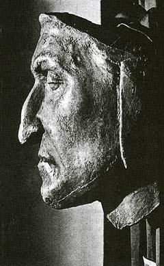 Dante halotti maszkja